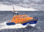 RNLI Lifeboat Painting