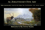 oil paintings by artist Al Johannessen