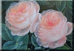 roses painted by Manfred Zobel