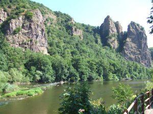 Bad Munster am Stein Ebernburg on the river Nahe
