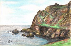 cliffs at Prawle Point, Devon