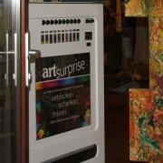 ArtSurprise vending machine