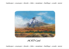 ACEO fitted on Presentation Card