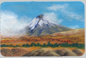 ACEO painted by Pat Harrison after a photo by Barchfeld