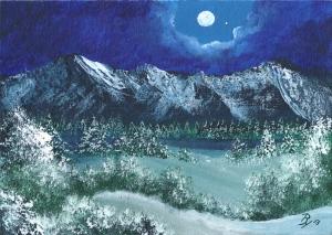 Gemälde von Rainer Hillebrand alias Pat Harrison