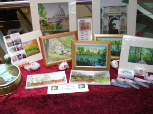Pat Harrison displays paintings and prints