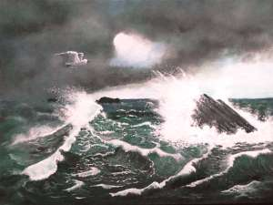 seascape painting by artist Pat Harrison