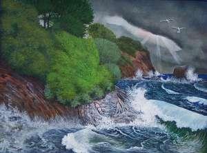 seascape by artist Pat Harrison