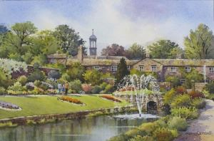 painting by Alan Goodall