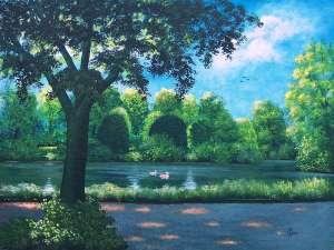 Malerei von Rainer Hillebrand alias Pat Harrison