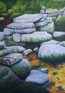 Landschaftsmalerei von Rainer Hillebrand alias Pat Harrison
