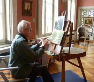 artist Pat Harrison aka Rainer Hillebrand