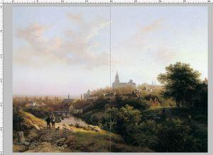 painting by B.C.Koekkoek